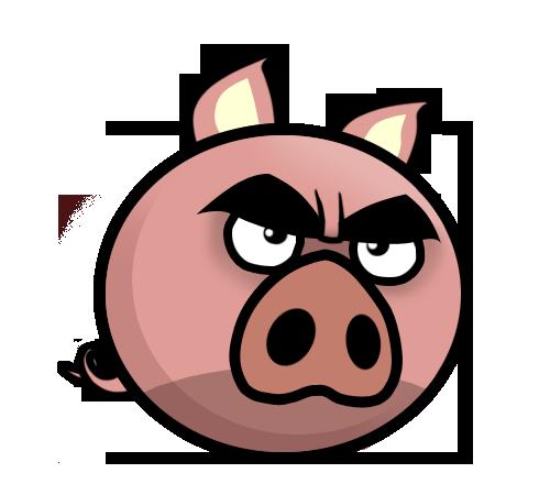 svg transparent Znalezione obrazy dla zapytania cartoon angry pig