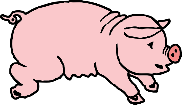 transparent download Piggie Clip Art at Clker