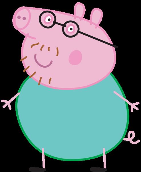 jpg transparent stock Daddy Pig Peppa Pig Transparent PNG Image