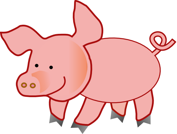clip art freeuse library pig pen clipart #66538936