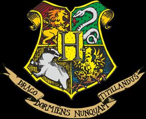 clip art black and white Hogwarts Logo Vectors Free Download