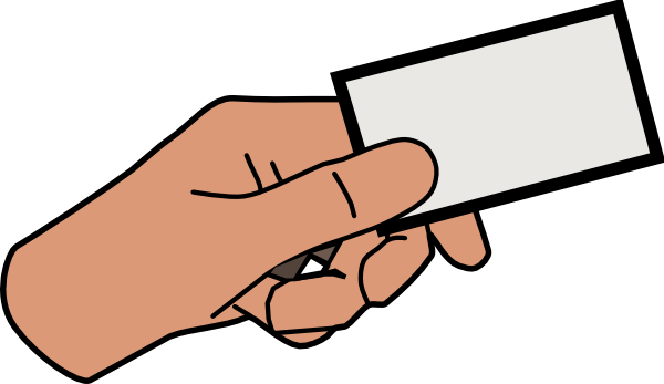 clip transparent Hand Holding Something Clipart
