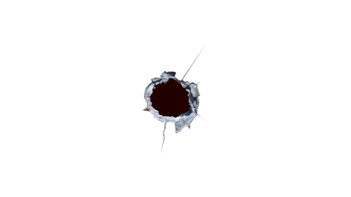 svg transparent stock Bullet Hole Four