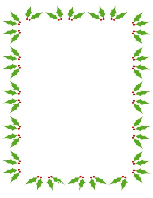 image free library Christmas clip art images. Holiday clipart borders.