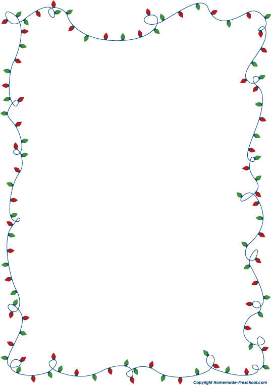 picture free library  clipartlook. Holiday clipart borders.
