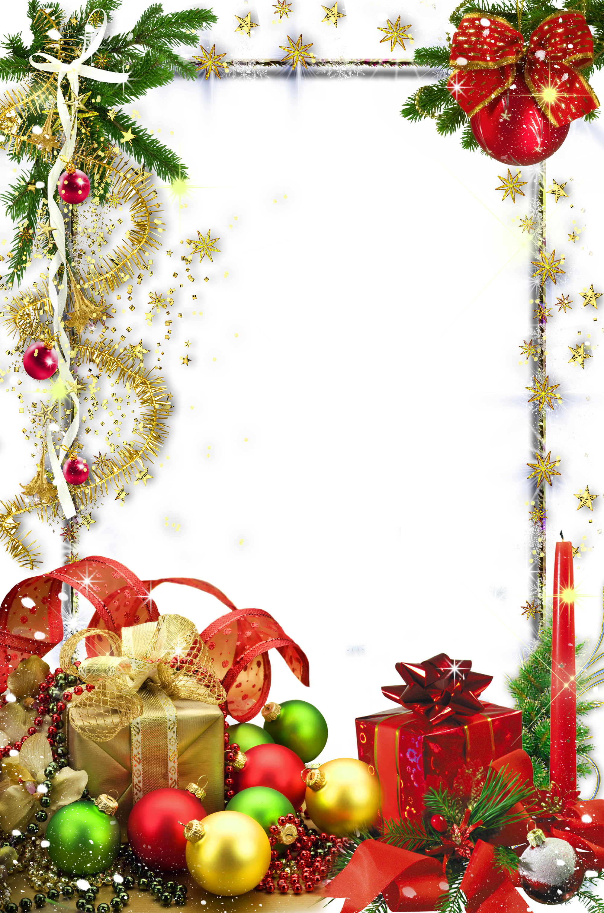 picture transparent download Free christmas clipart borders and frames. Transparent holiday photo frame