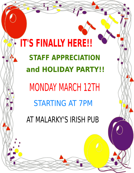 image free download Office party clipart. Holiday clip art at