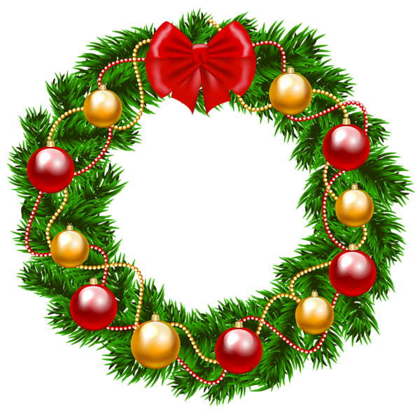 image royalty free stock Holiday wreath clipart. Christmas png image pinterest