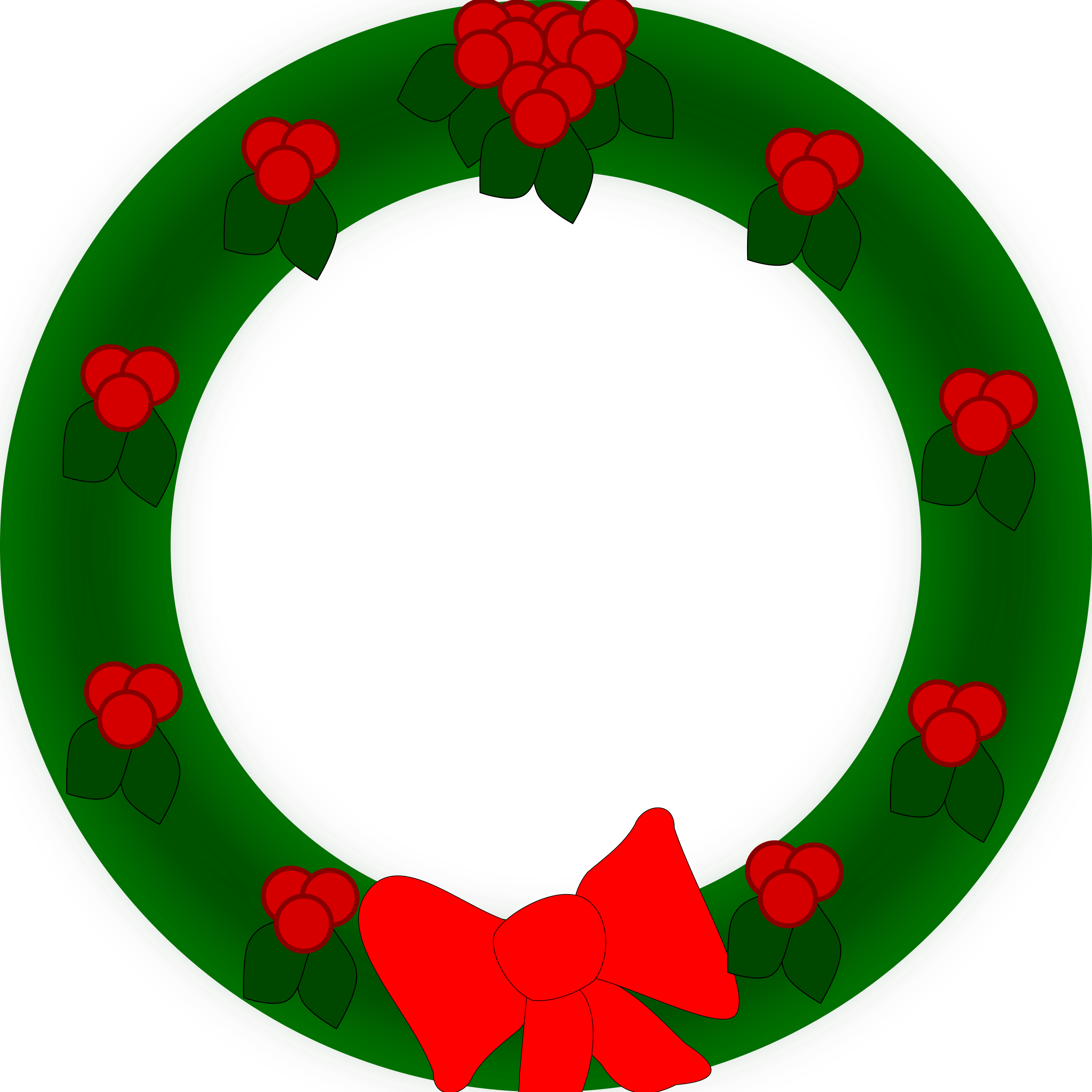 vector free Big image png. Holiday wreath clipart