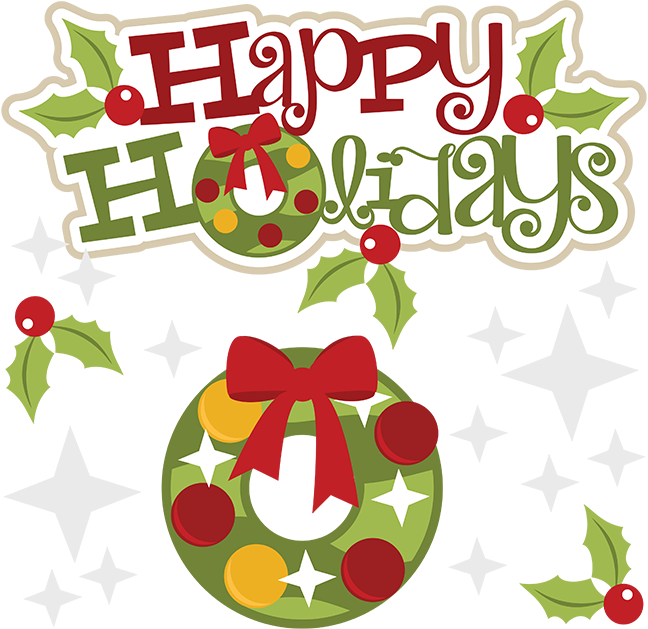 vector stock Happy svg file cute. Holidays clipart.