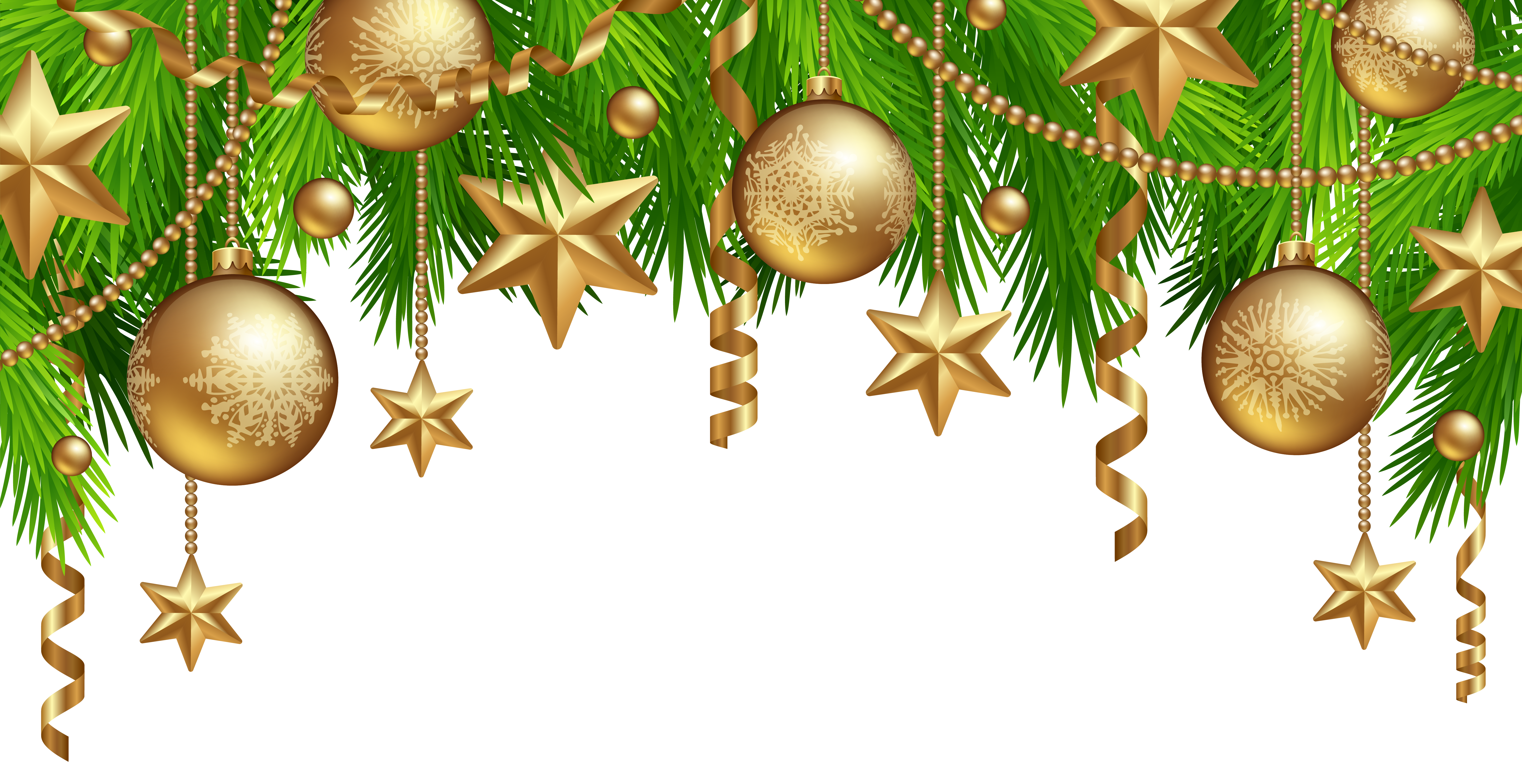 png freeuse download Christmas Border Decor PNG Clipart Image