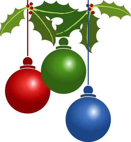 jpg transparent stock Decorations clipart holiday ornament. Free christmas clip art