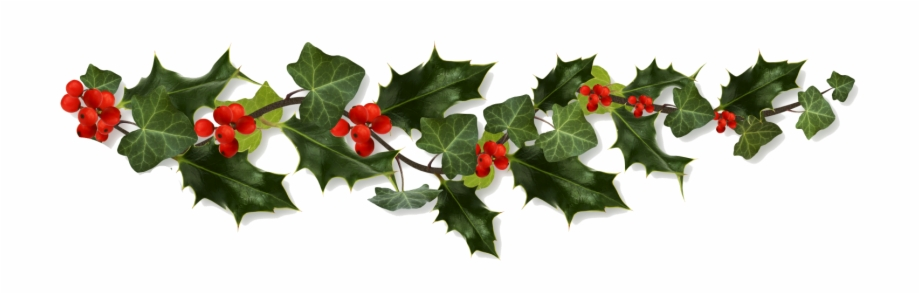 clip art library library Holly transparent. Border png clip art