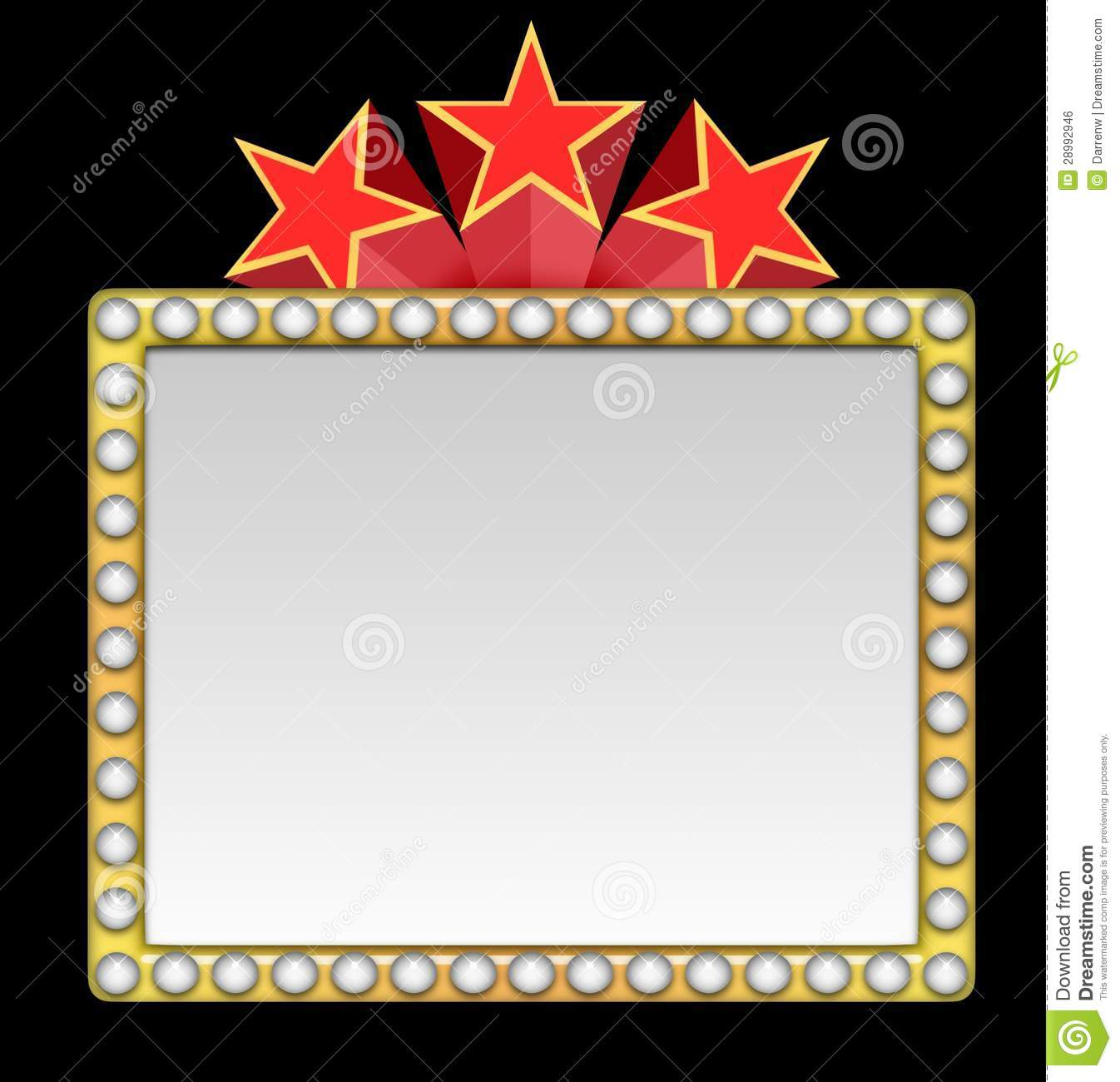 clipart royalty free Hollywood clipart border. Free cliparts download clip