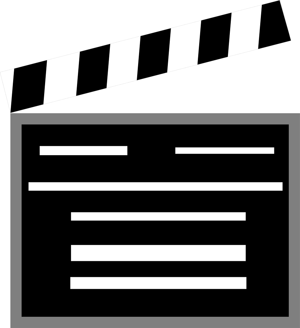 svg library stock Movies Clipart