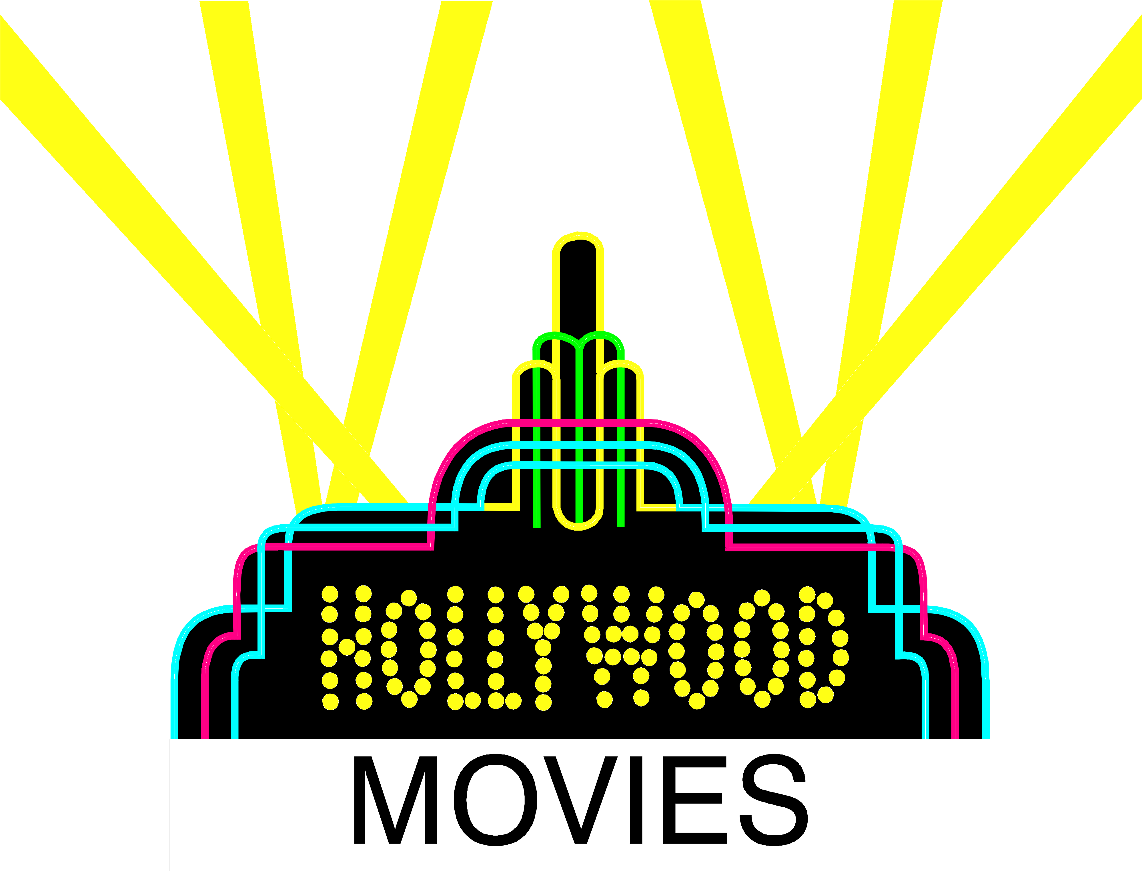 svg royalty free Collection of free Comedies clipart film hollywood
