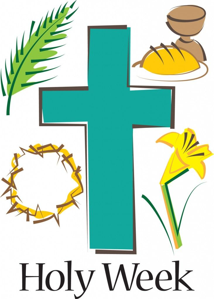 freeuse Holy week clipart. Happy easter day .