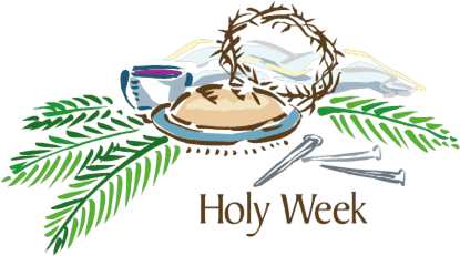graphic library Barrington congregational church lent. Holy week clipart.