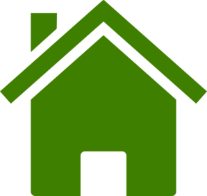 graphic download House Icon Dark Green Clip Art at Clker
