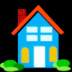 jpg black and white Shelter clipart. Free house clip art.