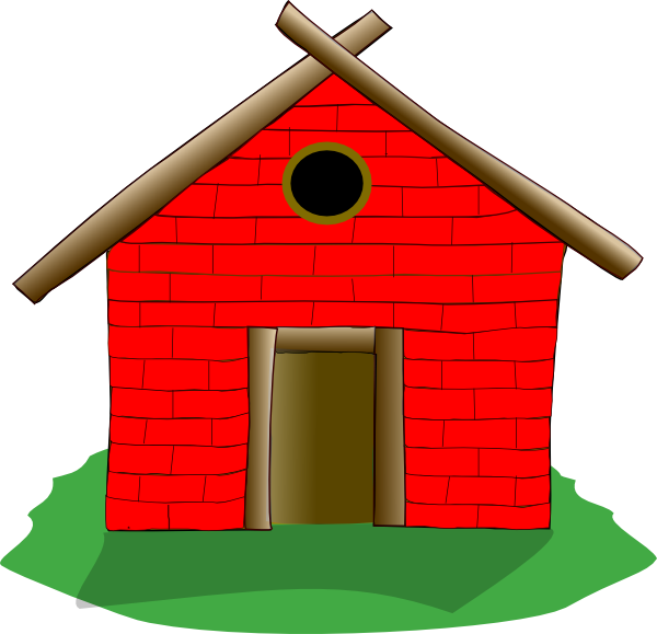 graphic freeuse Brick House Clip Art at Clker