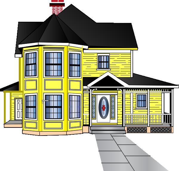 clip transparent Little Yellow House Clip Art at Clker