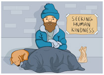 freeuse stock Free cliparts download clip. Homeless clipart