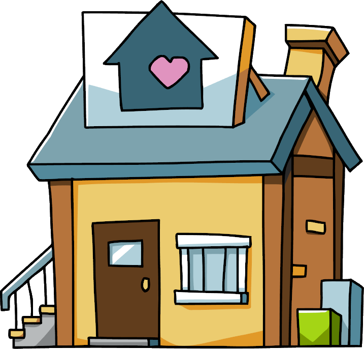 banner freeuse library Image shelter png scribblenauts. Homeless clipart