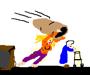 picture transparent download Old lady getting kidnapped by homeless women