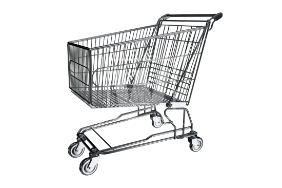 image black and white library Shopping Cart