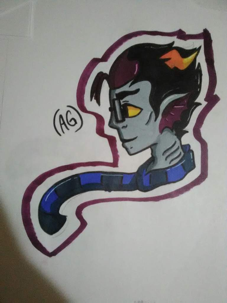 banner stock Homestuck drawing.  day challenge and