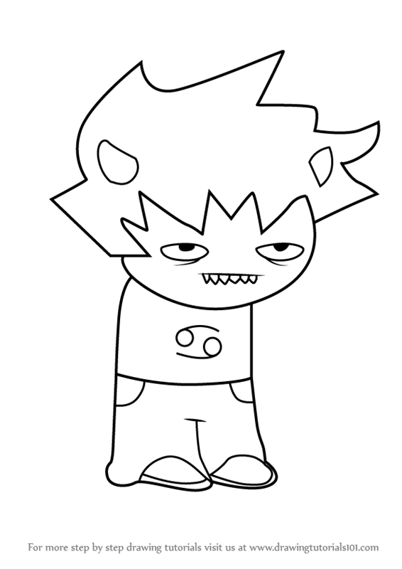 clip art library Homestuck drawing. Learn how to draw