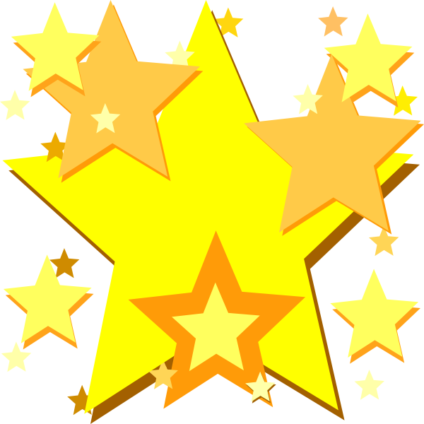 clip art royalty free library Yellow Star