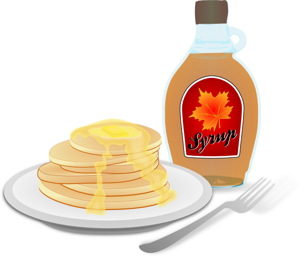 vector library download Pancakes clip art at. Pancake breakfast clipart