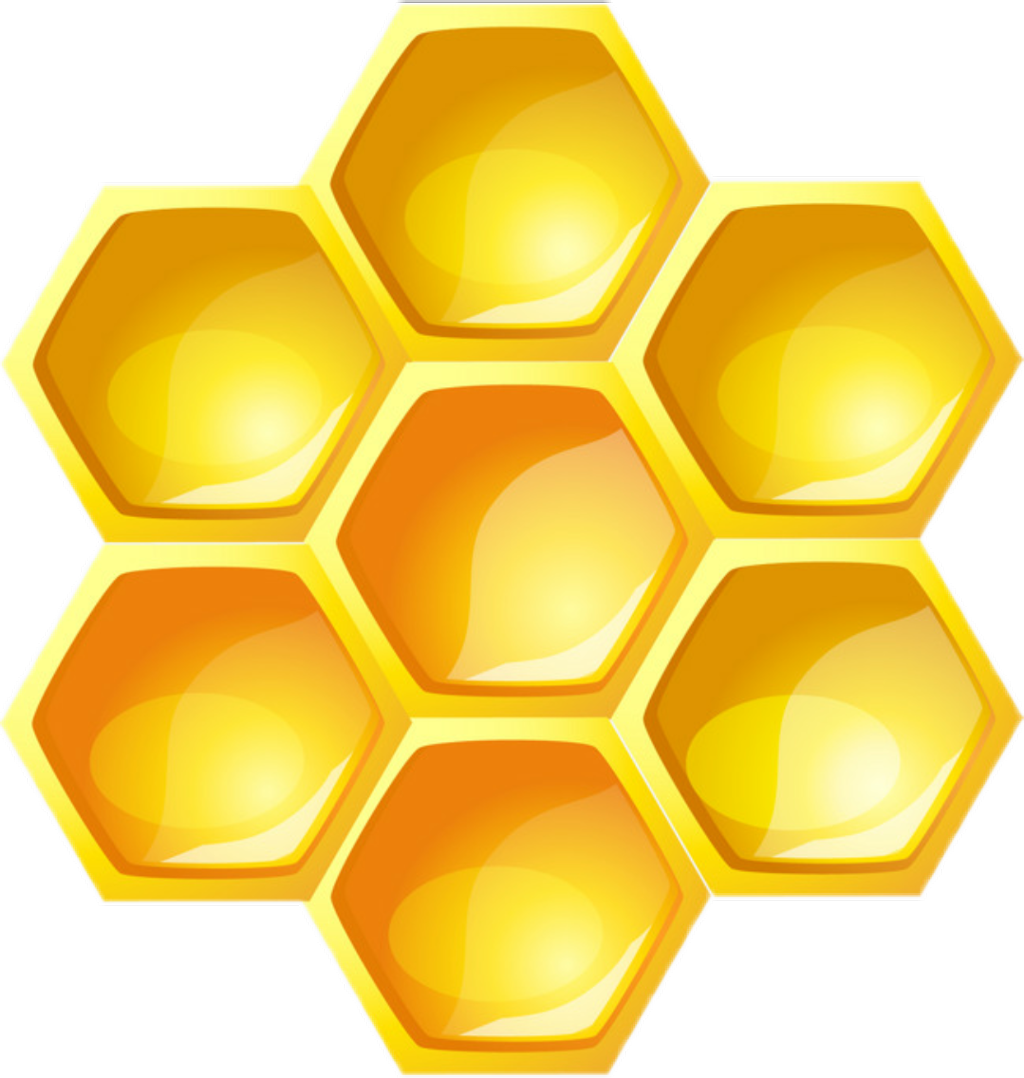 clipart library stock Honeycomb clipart. Sticker download on clipartwiki.
