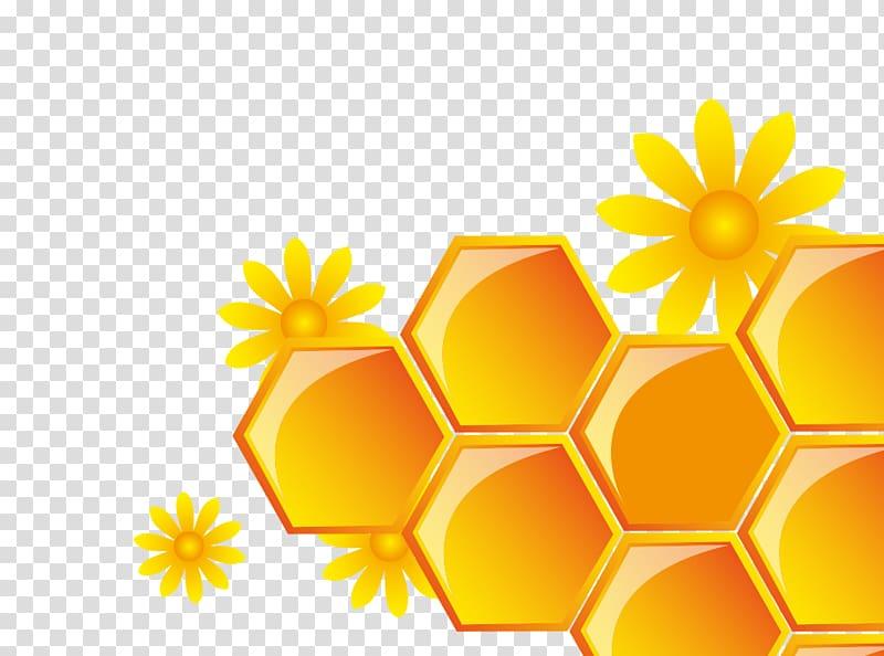 image transparent stock Honey yellow grid transparent. Honeycomb clipart.
