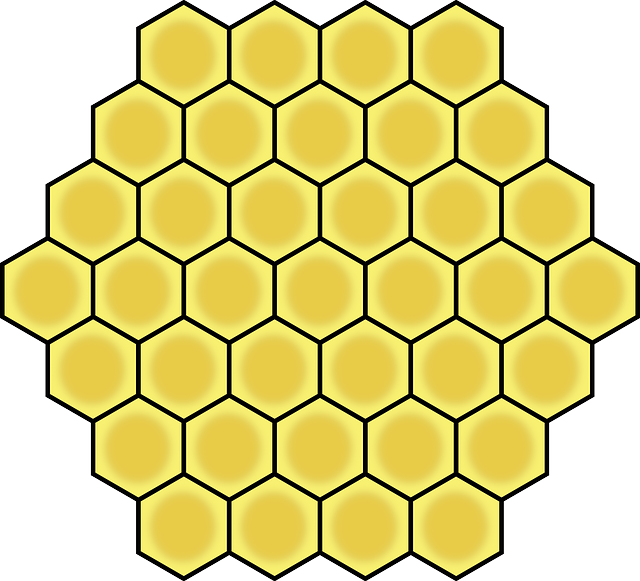 clipart freeuse stock Honey comb free on. Honeycomb clipart.