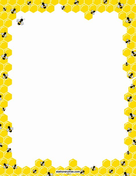 clipart library stock Free bee cliparts download. Honeycomb clipart border