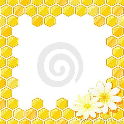 clipart royalty free download Honeycomb clipart border. Bee clip art seamless
