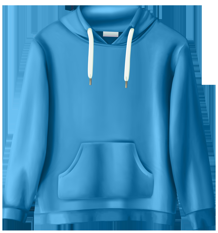 clipart free Sweatshirt png clip art. Hoodie clipart blue hoodie.