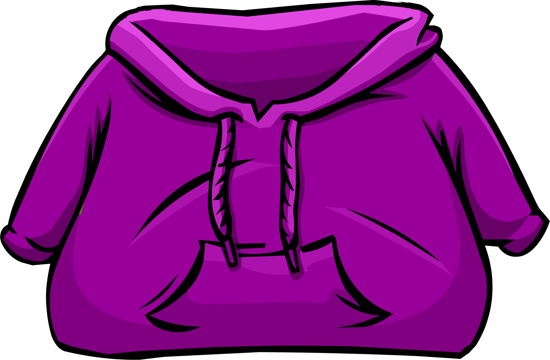 png black and white stock Purple club penguin rewritten. Hoodie clipart blue hoodie.
