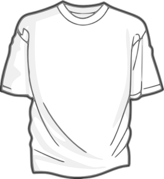 picture free stock Black t shirt at. Drawing shirts realistic