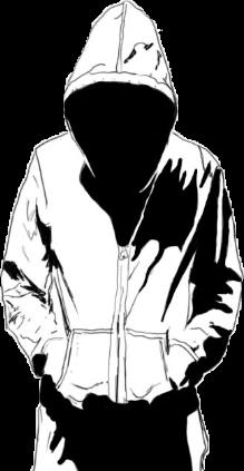 vector freeuse download Guy In Hoodie Drawing at GetDrawings
