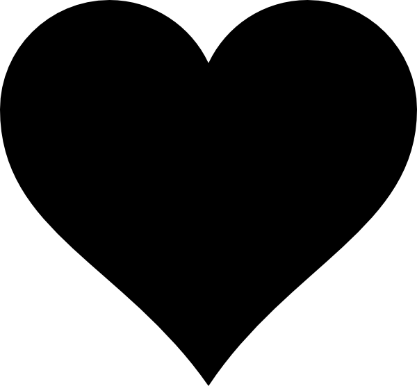 clipart free download Heart Silhouette Images at GetDrawings