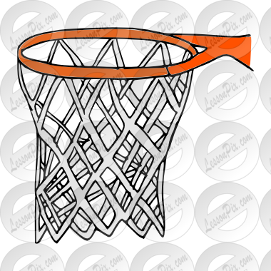 vector freeuse download Basketball picture for classroom. Hoop clipart.