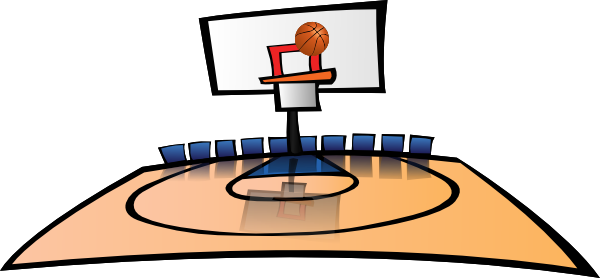 clipart black and white stock  collection of clipart. Basketball clip court