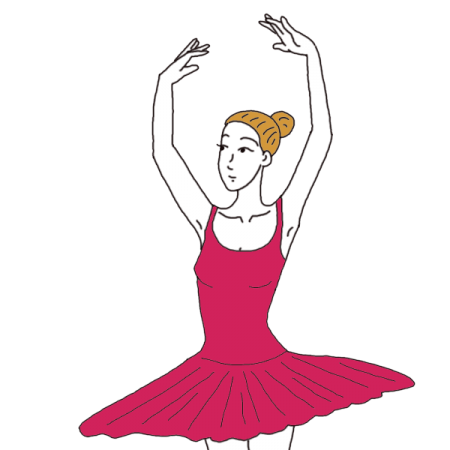 black and white stock Ballet Dancer Dream Dictionary