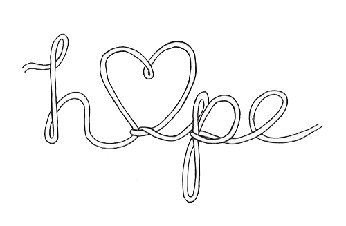 black and white download hope drawing heart #97876912