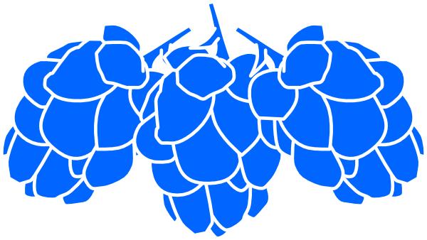 jpg black and white Hops clipart. Blue clip art at