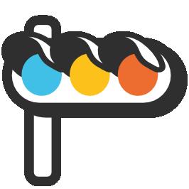 clip art royalty free Emoji android traffic light. Horizontal clipart.